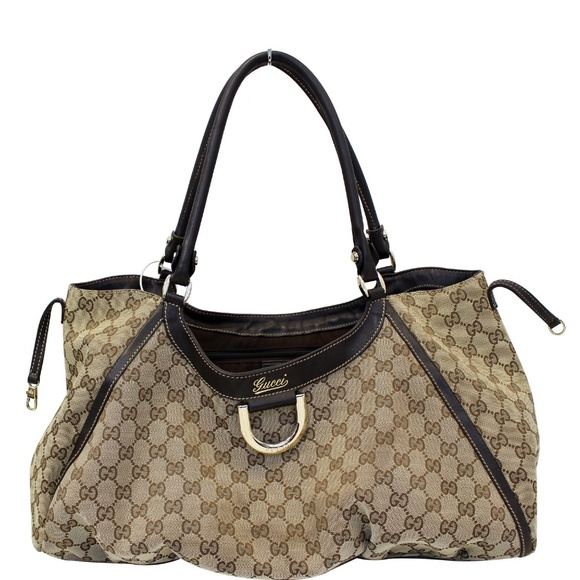 2dd2077f3fc69d Gucci Bags   Abbey D Ring Gg Canvas Large Hobo Bag   Poshmark